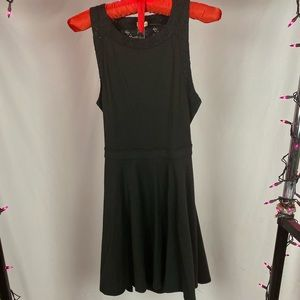 Hollister Little Black Lace Backless Dress